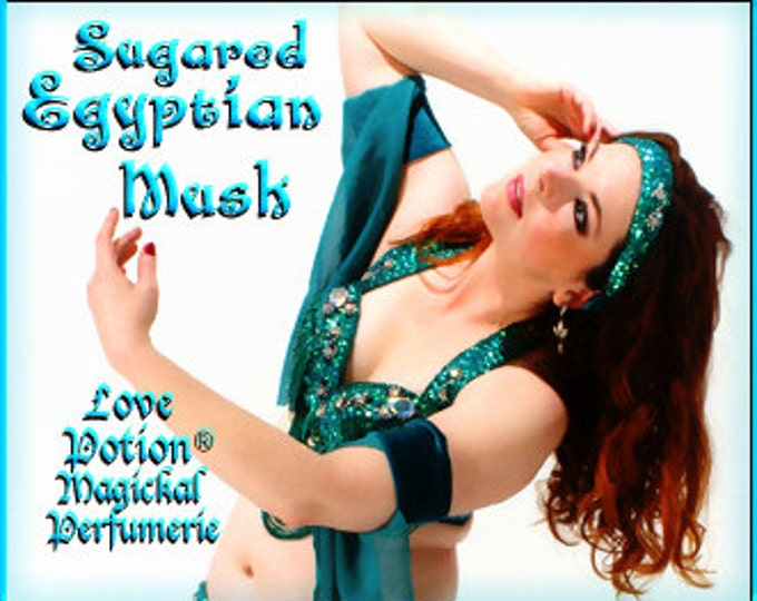 Sugared Egyptian Musk SPRAY - Layerable Cologne Spray - 1 fl.oz. - Love Potion Magickal Perfumerie