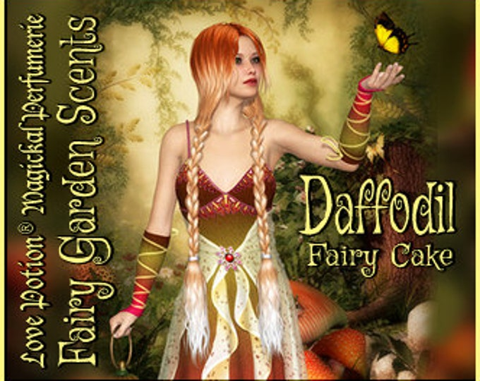 Fairy Cake: Daffodil - Sweet & Youthful Layerable Perfume - Love Potion Magickal Perfumerie