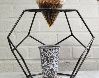 Geodesic Dodecahedron Coffee Pourover Stand