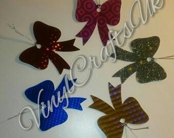 Cheer Bow Gift Tags
