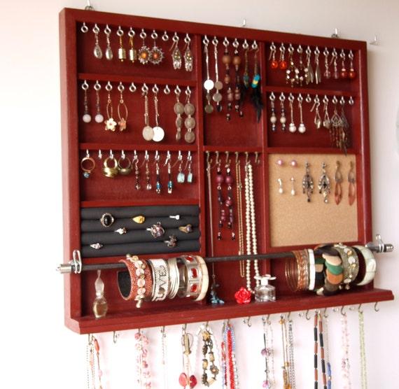 porte bijoux grandes boucles doreilles pr sentoir rangement. Black Bedroom Furniture Sets. Home Design Ideas