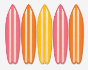 Surf Board Fan Blades