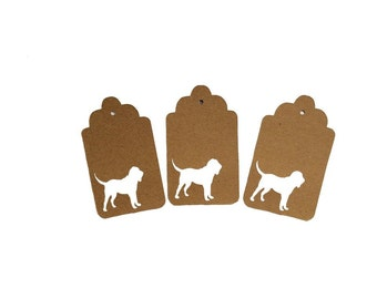 Bloodhound Gift Tags