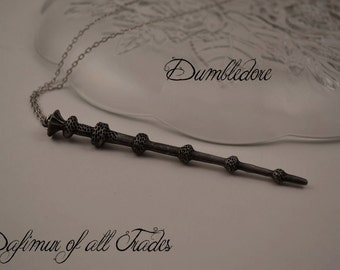Necklace Pendant Harry Potter Wand Deathly Hallows Elder Wand Hermione