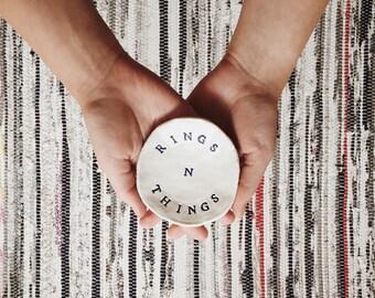 Custom Rings N Things Ring Dish