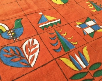 Fruit fabric 70s 50x80cm