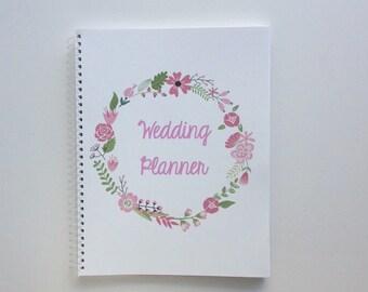 Custom Wedding Planner, Wedding Book, Wedding Planning Guide, Wedding Planner Book, Bridal Planner, Engagement Gift