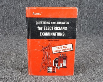 Questions And Answers For Electricians Examinations By Edwin P. Anderson 1975