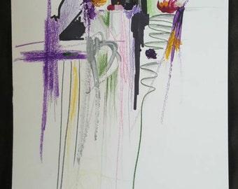 Original Mixed Media, Contemporary, Modern Art, Abstract Painting, Street art, Christian art