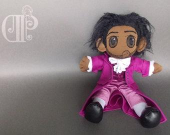 Thomas Jefferson from Hamilton Musical Plush Doll Plushie Toy