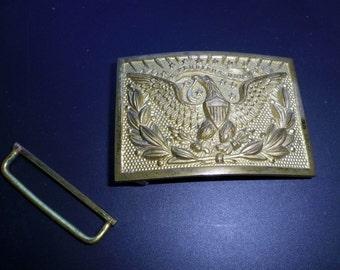 Brass Eagle E Plulribus Unum Army Buckle