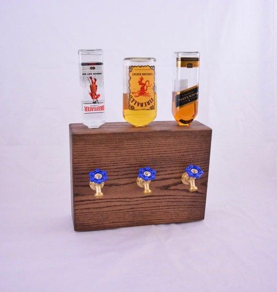 Wood Whisky Bottle Holder Ideas