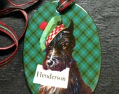 Clan Henderson Artisan Ceramic Keepsake