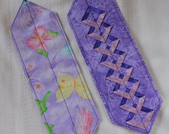 Cut-Work Butterfly Bookmark