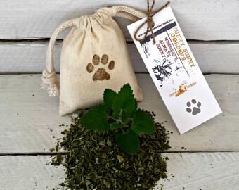 Organic CatNip Sachet, Organic Cat Nip, Gifts For Cats, Holiday Pet Gifts, Cat Toys