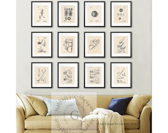 Golf Decor Patent Art Posters Set Of 12 Prints, Office Decor Golf Decor  Ideas,
