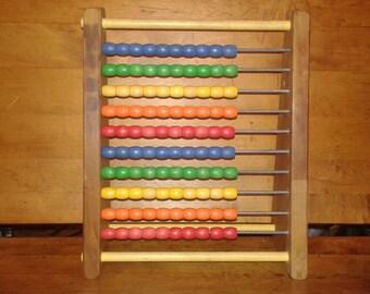 Vintage Sandberg Counting Abacus