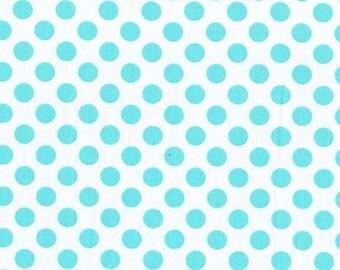 Ta Dot Aqua fabric by Michael Miller
