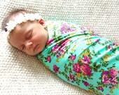 Newborn Swaddling Blanket