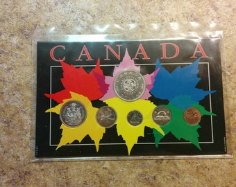 1964 Canadian Coin Set