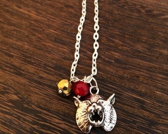 Texas State Charm Necklace