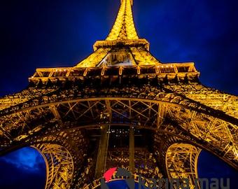SALE Eiffel Tower Photograph, Paris, France, Travel, Landscape, Art Print, Travel, Wall Art, Home Decor