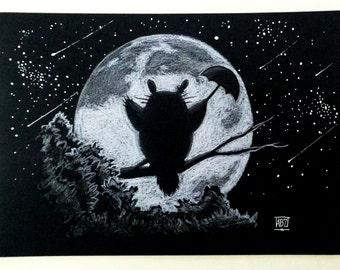 Totoro's Night