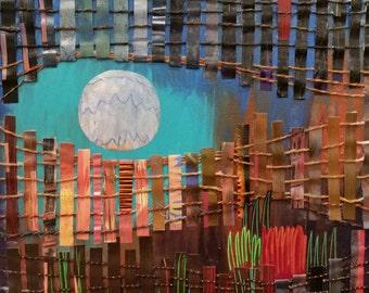 Aqua Sky Moon