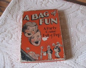 A Bag of Fun , A Party Game Full of Pep