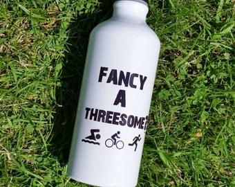 Fancy a Threesome? - Water Bottle