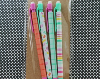 Dollar Spot Mechanical Pencils in Tropical Theme