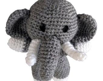 Relly the Elephant - Crochet Pattern (PDF)