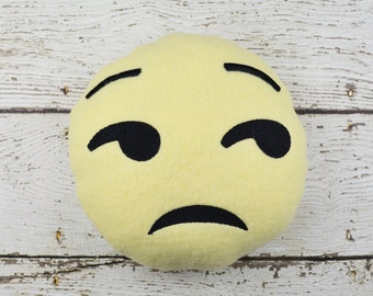 Unamused Emoji Plushie