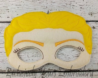 Alicia Children's Felt Mask  - Costume - Theater - Dress Up - Halloween - Face Mask - Pretend Play - Party Favor