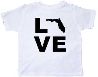 Love Florida Toddler T-Shirt by inktastic