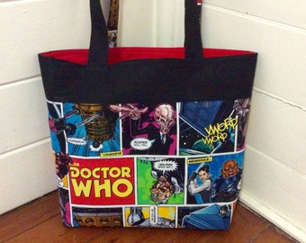 Made to Order Doctor Who tote