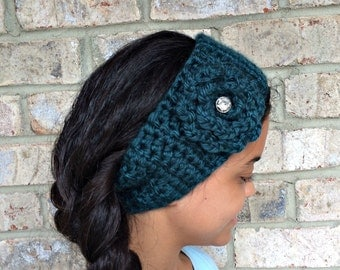 Handmade Crochet Ear Warmer / Headband / Winter Headband / Holiday Gifts