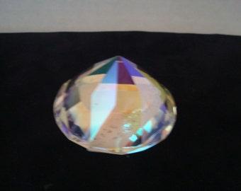Vintage crystal paperweight