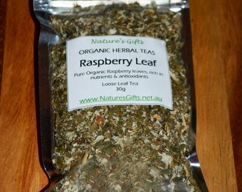 Raspberry leaf - Organic Herbal Tea