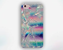 Shattered Crystal iPhone Case, Pink Crystal iPhone Case, Psychedelic Pattern iPhone Case, iPhone 6s case, iPhone 5s case, iPhone 6 case