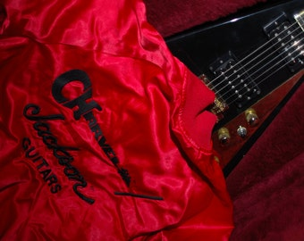 1983 san dimas era charvel jackson red satin jacket ultra rare.