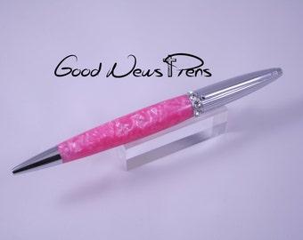 Pink Pens, Magenta Writing Pen, Ballpoint Pens, Custom Pens, Office Gifts, Desk Accessories, Ladies Pens, Women Accessories, Journal Writing