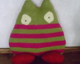 Cushion plush striped KROMINYION
