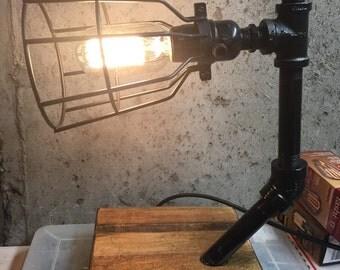 Steampunk desk lamp