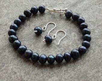 Freshwater Pearl Jewellery, Pearl Bracelet, Pearl Earrings, Contemporary Pearls, Dark Pearls