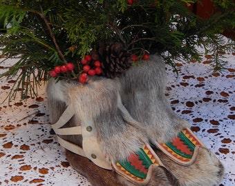 Vintage Reindeer Boots