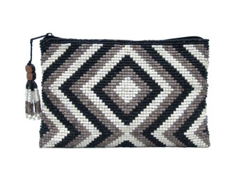 Free US Shipping - Lotes Ceramic Beaded Clutch