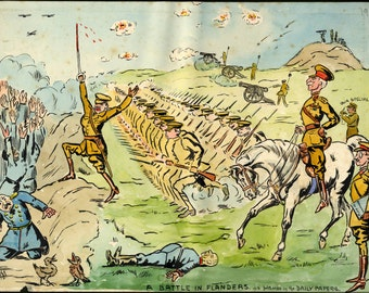 24x36 Poster . Battle In Flanders