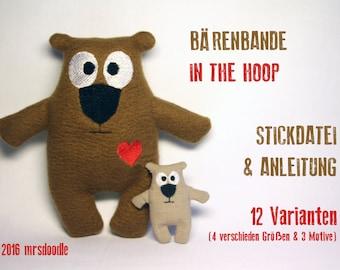 12 files - set bear gang - in the hoop ITH