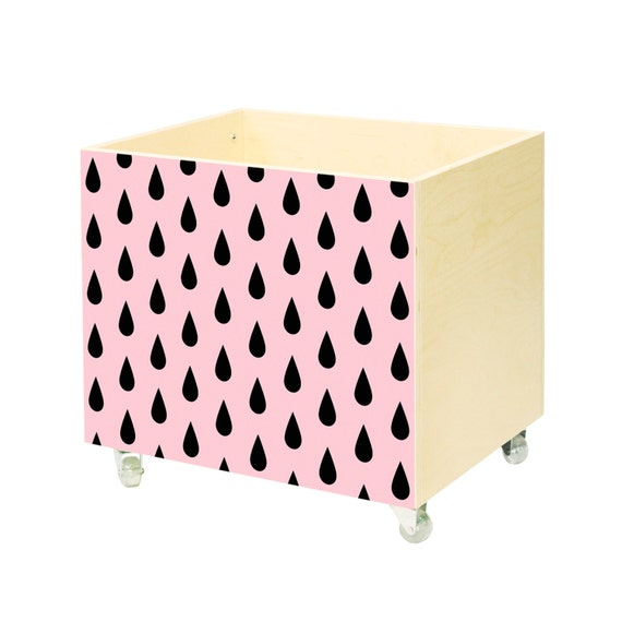 Toy chest, nursery toy box, toy bin storage, toy hope crate drops ...